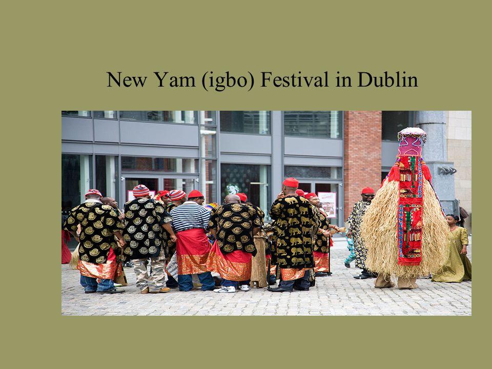 New Yam (igbo) Festival in Dublin