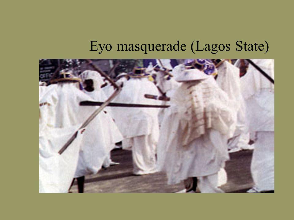 Eyo masquerade (Lagos State)