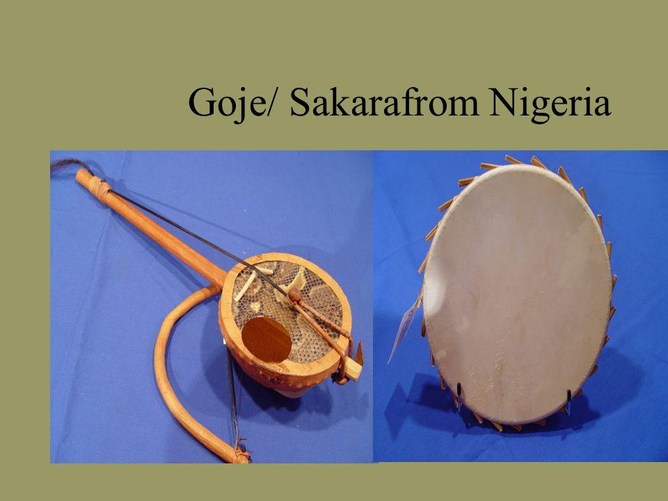 Goje/ Sakarafrom Nigeria