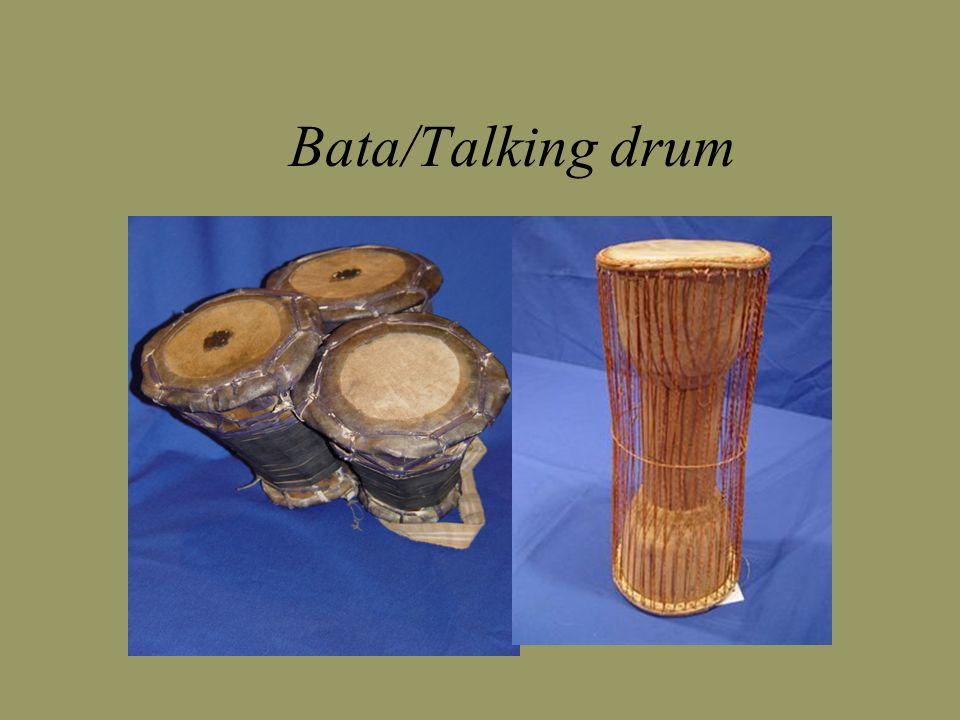 Bata/Talking drum
