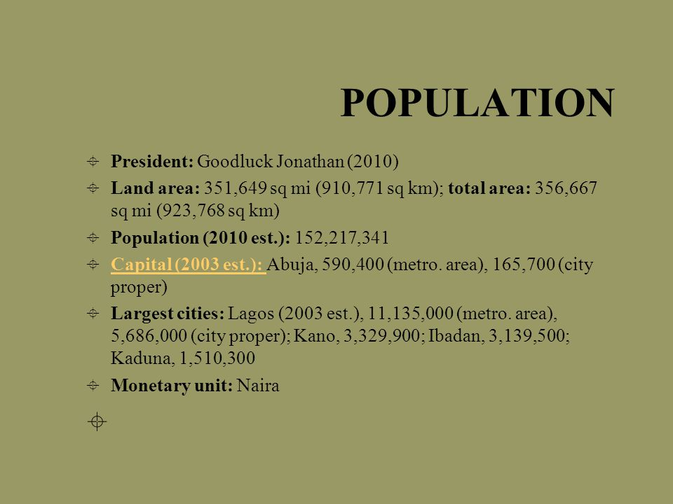 Languages/Ethno-linguistic groups The large population of Nigeria also brings about diversity in the language spoken there.