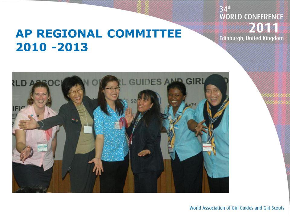 AP REGIONAL COMMITTEE 2010 -2013