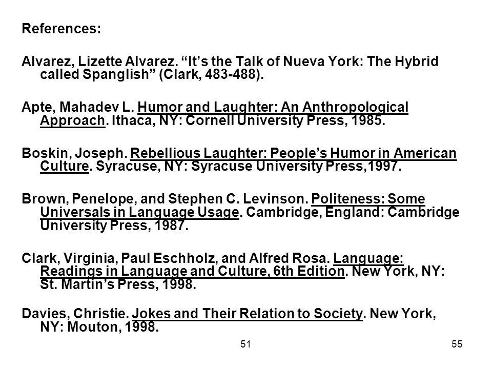 5155 References: Alvarez, Lizette Alvarez.