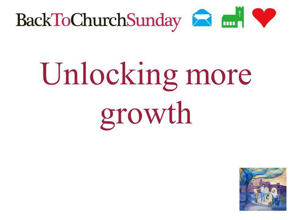 Unlocking more growth