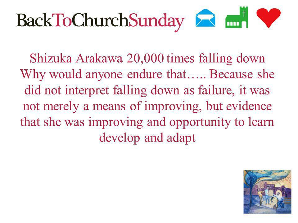 Shizuka Arakawa 20,000 times falling down Why would anyone endure that…..