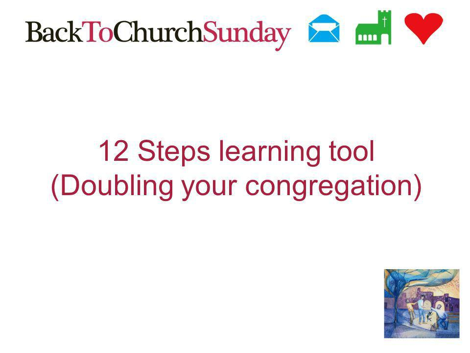 12 Steps learning tool (Doubling your congregation)