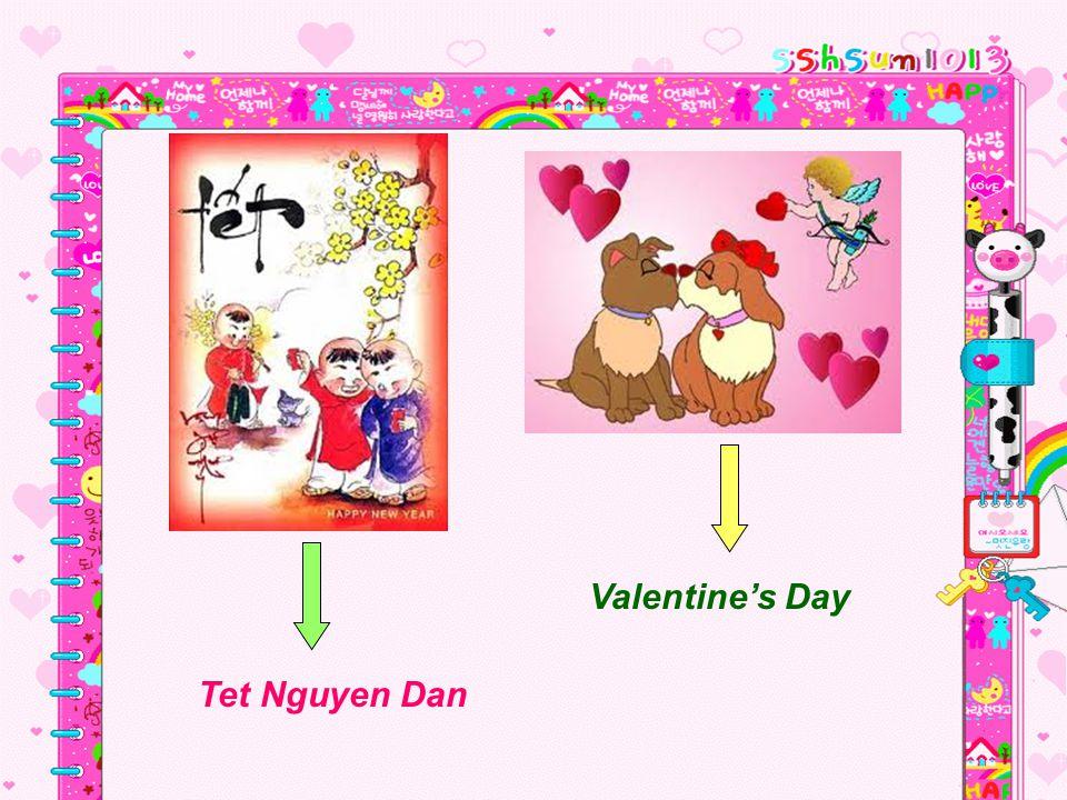 Tet Nguyen Dan Valentines Day