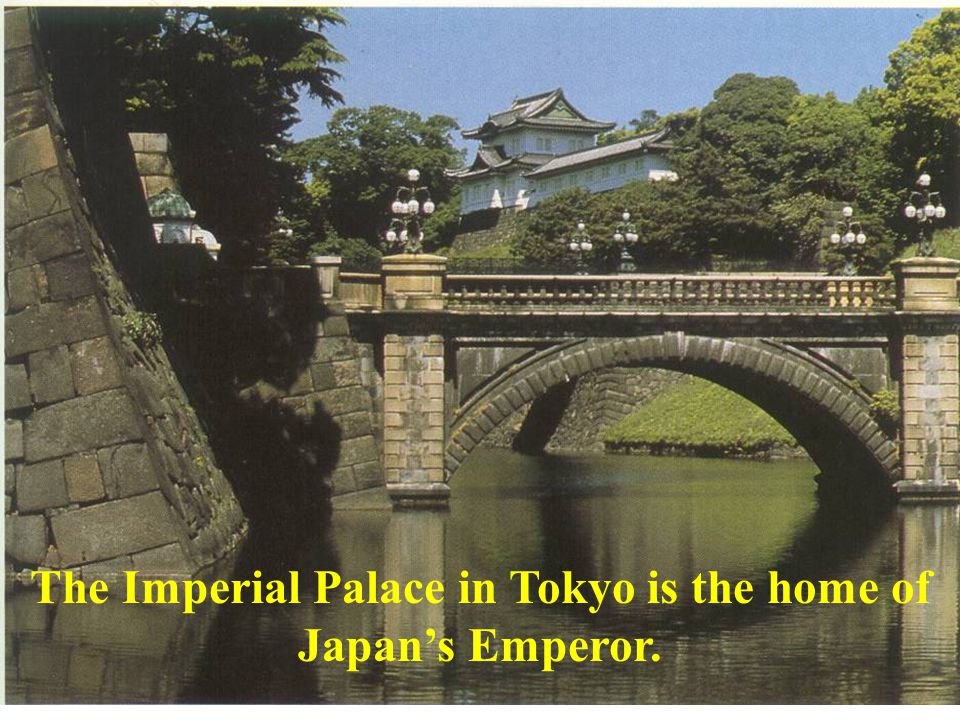 The Imperial Palace in Tokyo is the home of Japans Emperor.