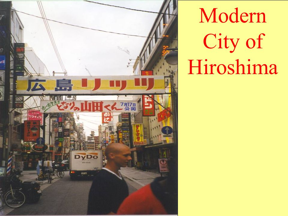 Modern City of Hiroshima