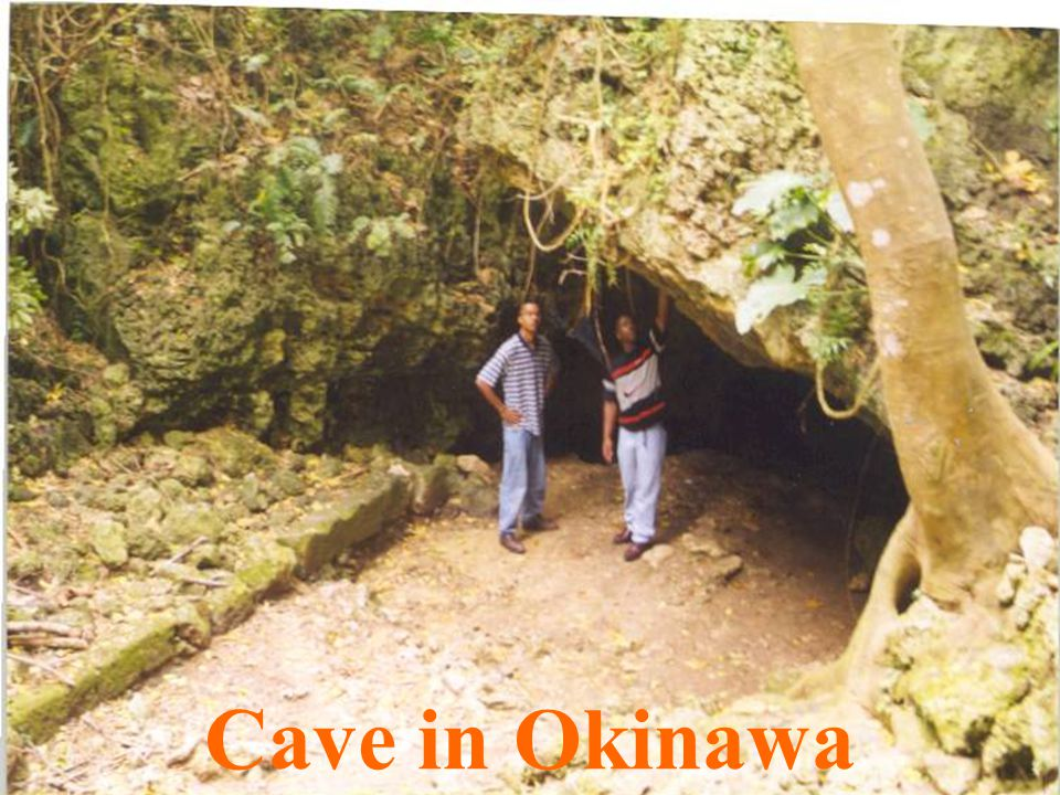 Cave in Okinawa