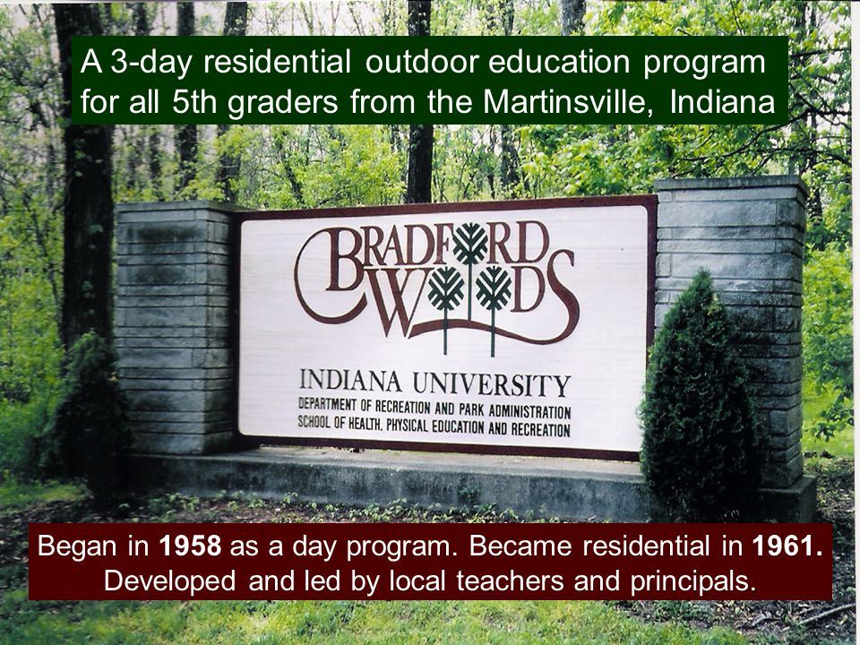Research Objectives 1.To investigate what adults remember of a 5 th grade residential outdoor environmental education experience.