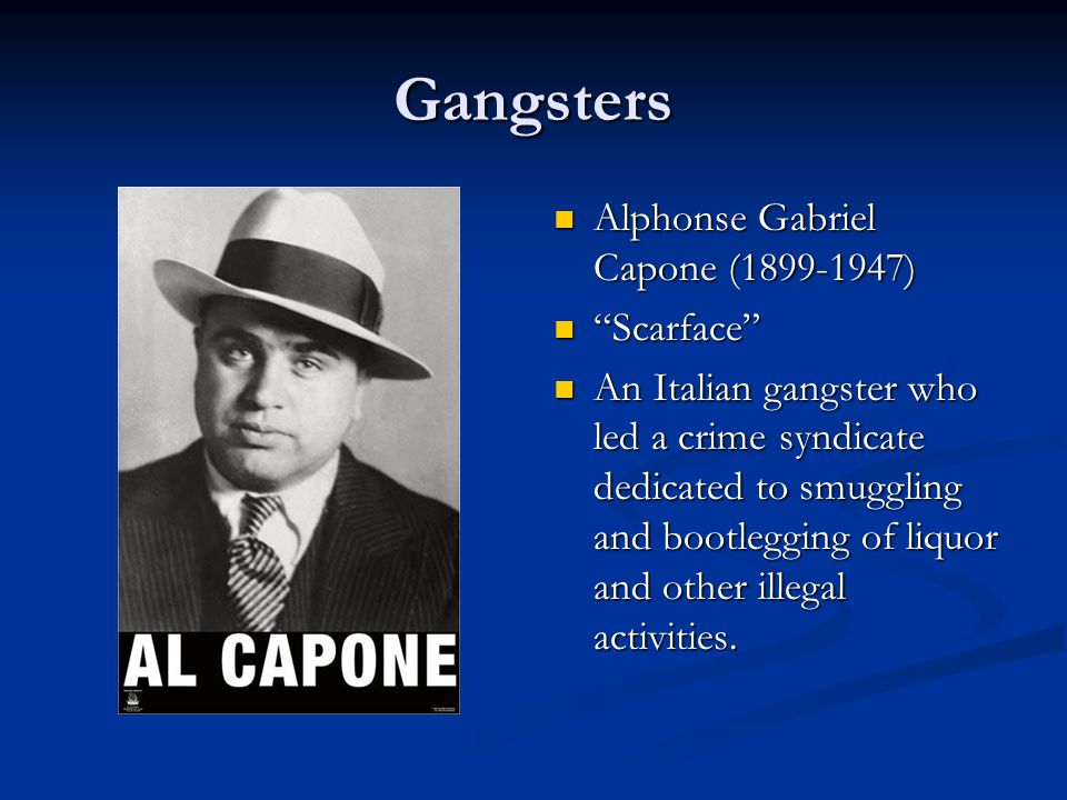 Organized Crime Prohibition caused the explosive growth of crime which increases the amount of alcohol consumption.