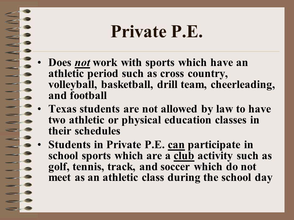 Private P.E.