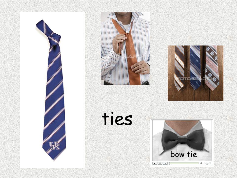 ties bow tie