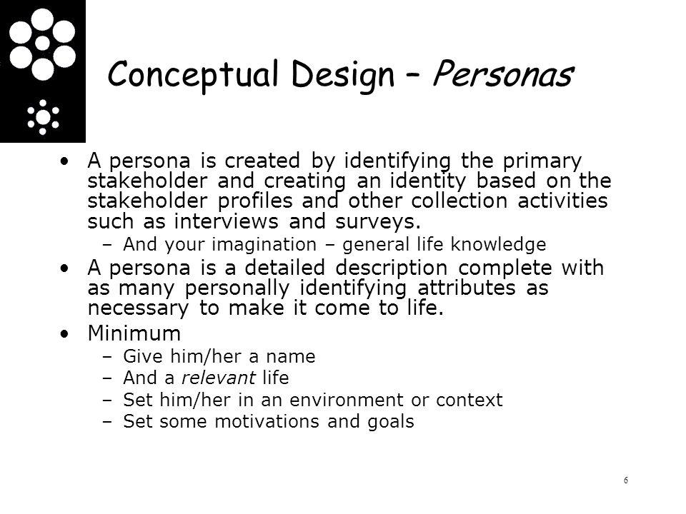 Conceptual Design – Semantic Network/Mind map A semantic network is a web of concepts that are linked through association.