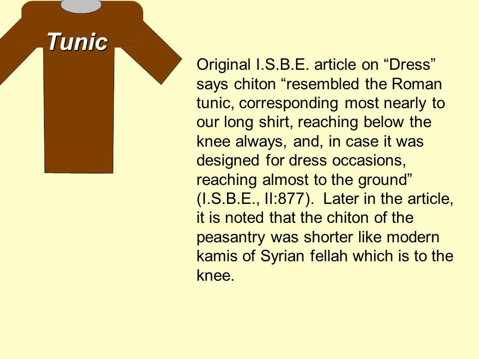 Tunic Original I.S.B.E.