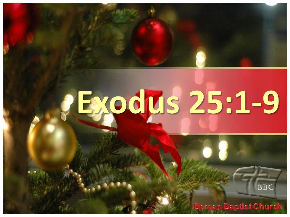 Exodus 25:1-9