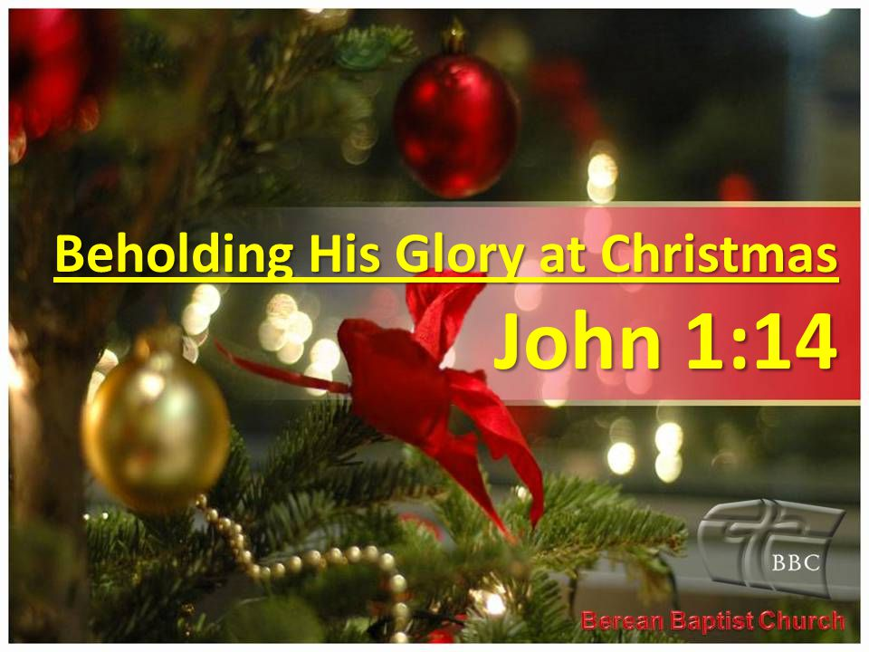Christmas Application Christmas is the time to celebrate Gods perfect revelation of Himself to mankind.