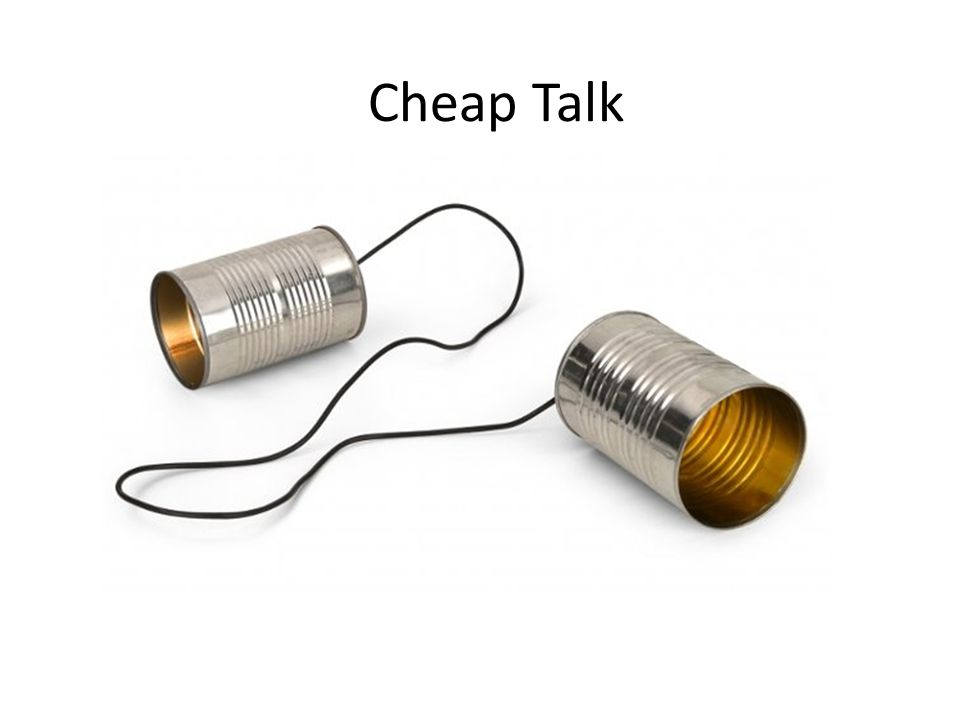 Cheap Talk