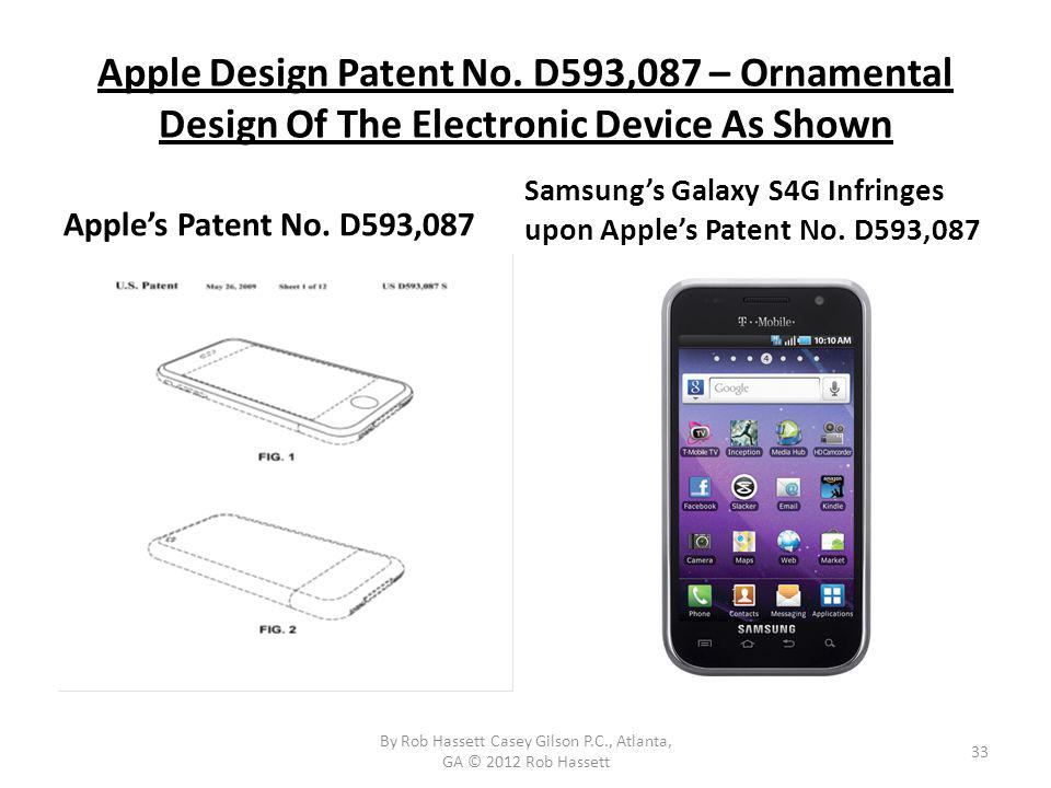 Apple Design Patent No.