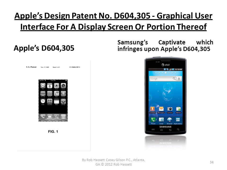 Apples Design Patent No.
