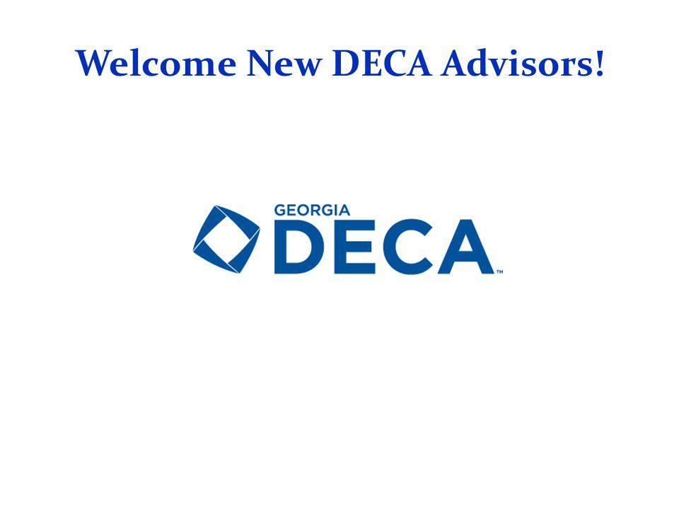 Welcome New DECA Advisors!