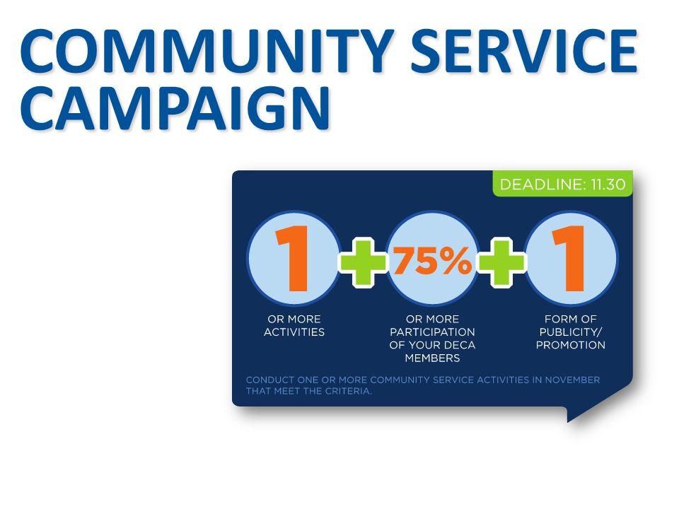 COMMUNITY SERVICE CAMPAIGN