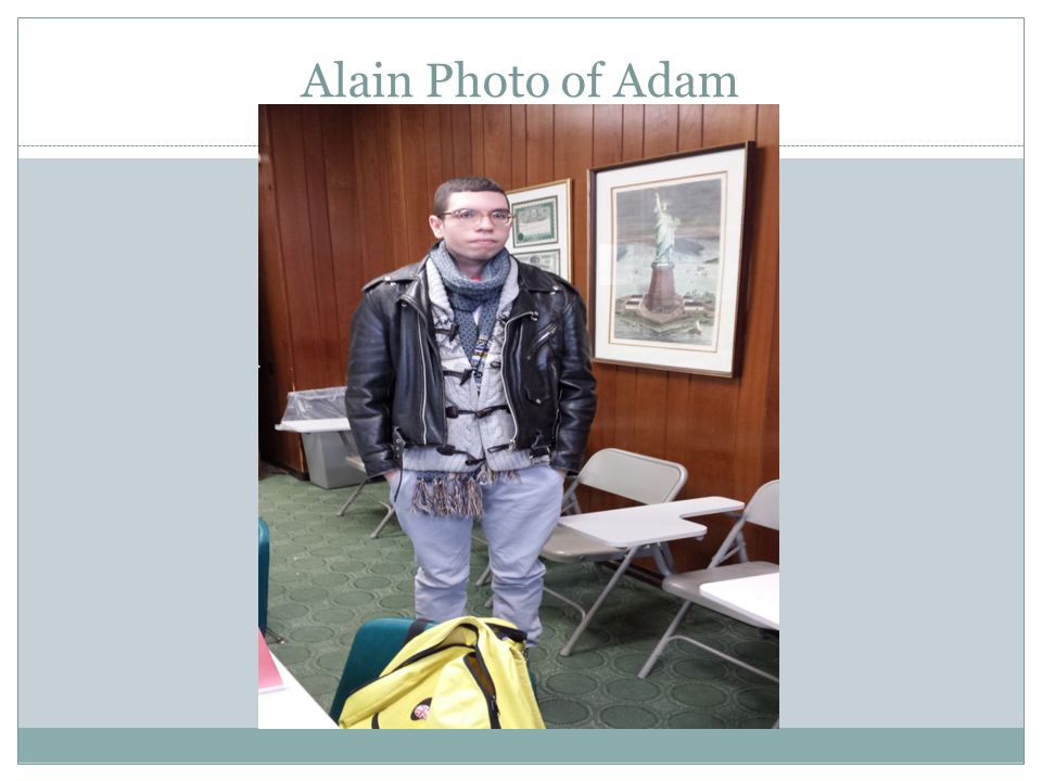 Alain Photo of Adam
