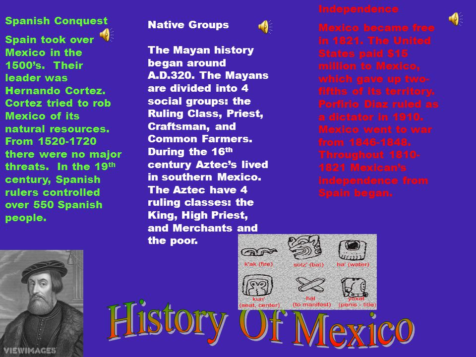 Outline 1.History (Native Groups, Spanish Conquest, Independence) 2.Government (System/ Leaders, Currency, Education) 3.Economy (Business/Industry, Trade, Jobs) 4.Culture (Language, Food & Music, Clothing) 5.Geography ( Regions, Climate, Animal Habitats) 6.Entertainment (Sports, Activities, Holidays) 7.Famous People (Artists, Writers, Other)