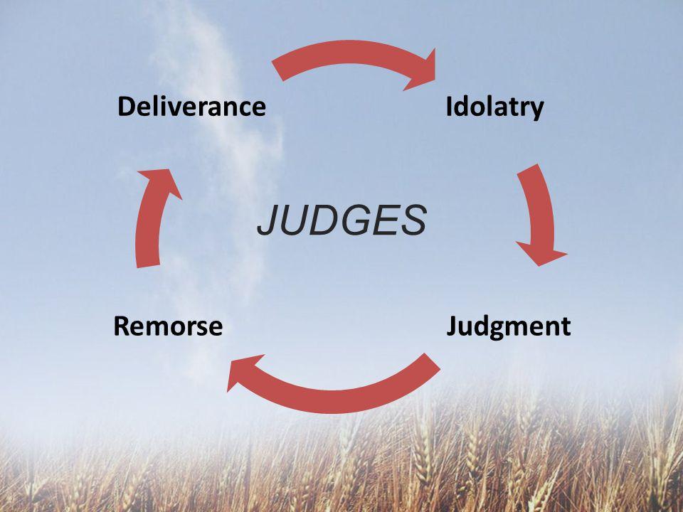 Idolatry JudgmentRemorse Deliverance JUDGES