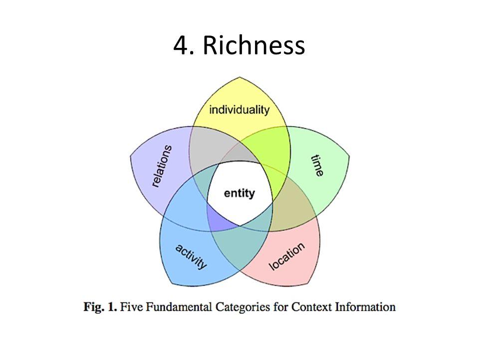 4. Richness