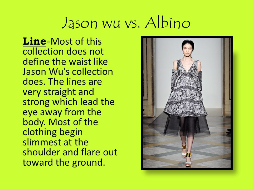 Jason wu vs.
