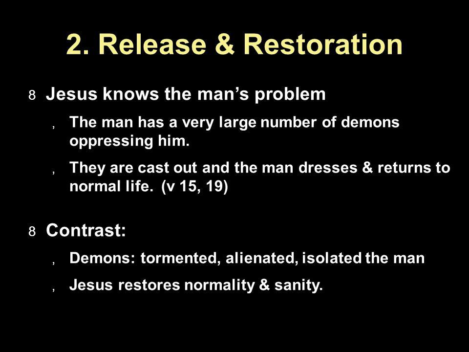 2.Release & Restoration...