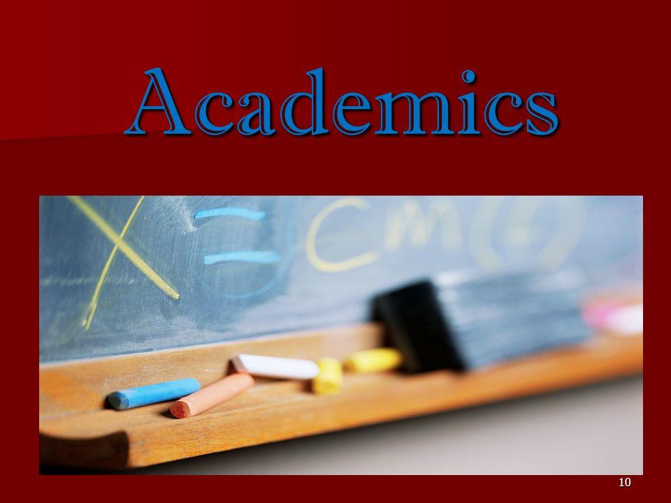 10 Academics