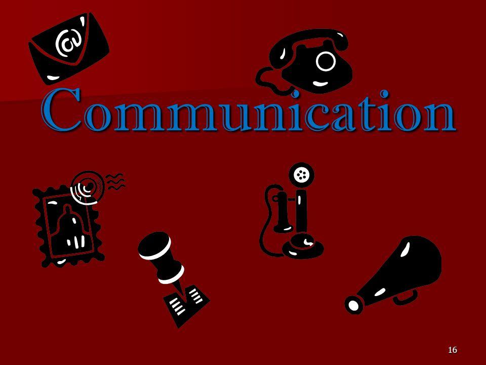 16 Communication
