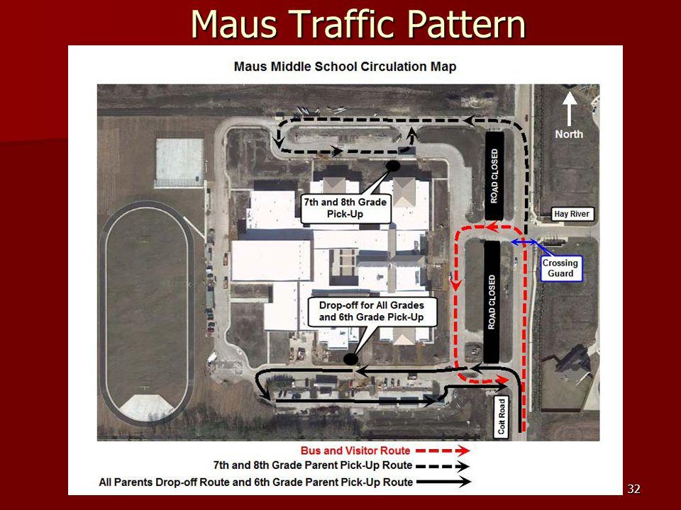32 Maus Traffic Pattern