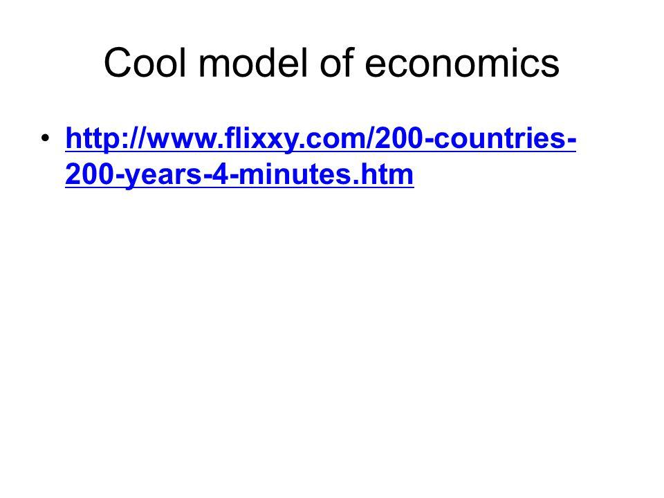 Cool model of economics http://www.flixxy.com/200-countries- 200-years-4-minutes.htmhttp://www.flixxy.com/200-countries- 200-years-4-minutes.htm