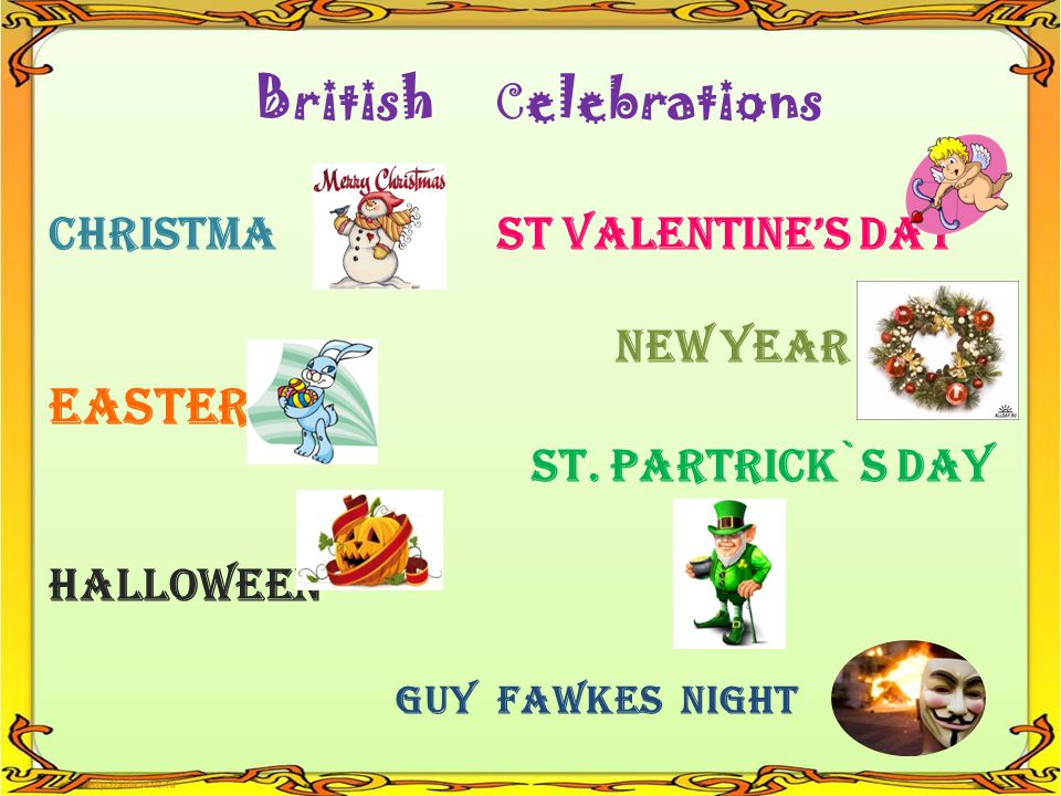 STPATRICKDAY T E E B R C E L V I N G A N K S G T HRISTMAS C E R S T EASLMITSNA U C S O M H O W E E N L L ENYEAR IRADTIOT I B A Y T H D GUYFKESNIGHTW 1 8 3 11 9 2 10 7 4 5 12 6 GUESS THE CROSSWORD