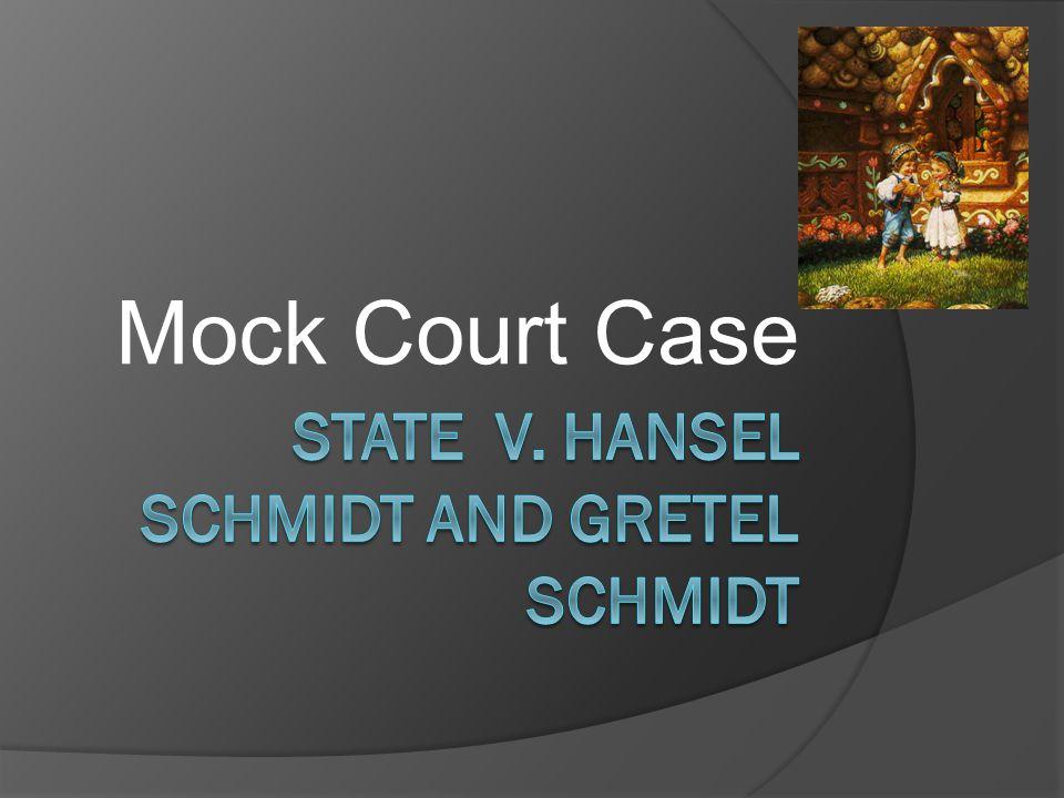 Mock Court Case