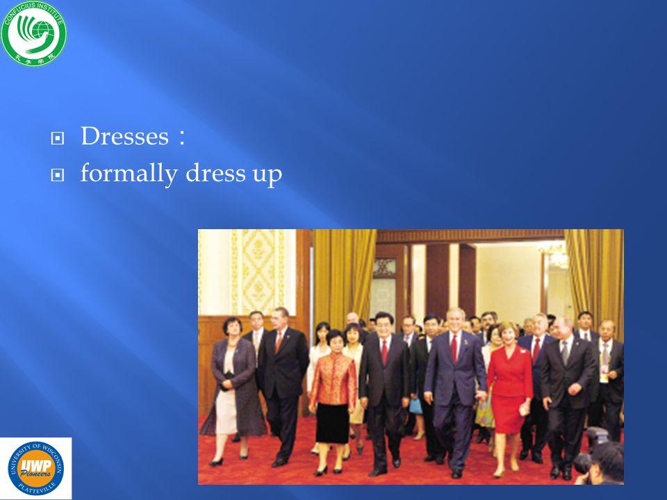 Dresses formally dress up