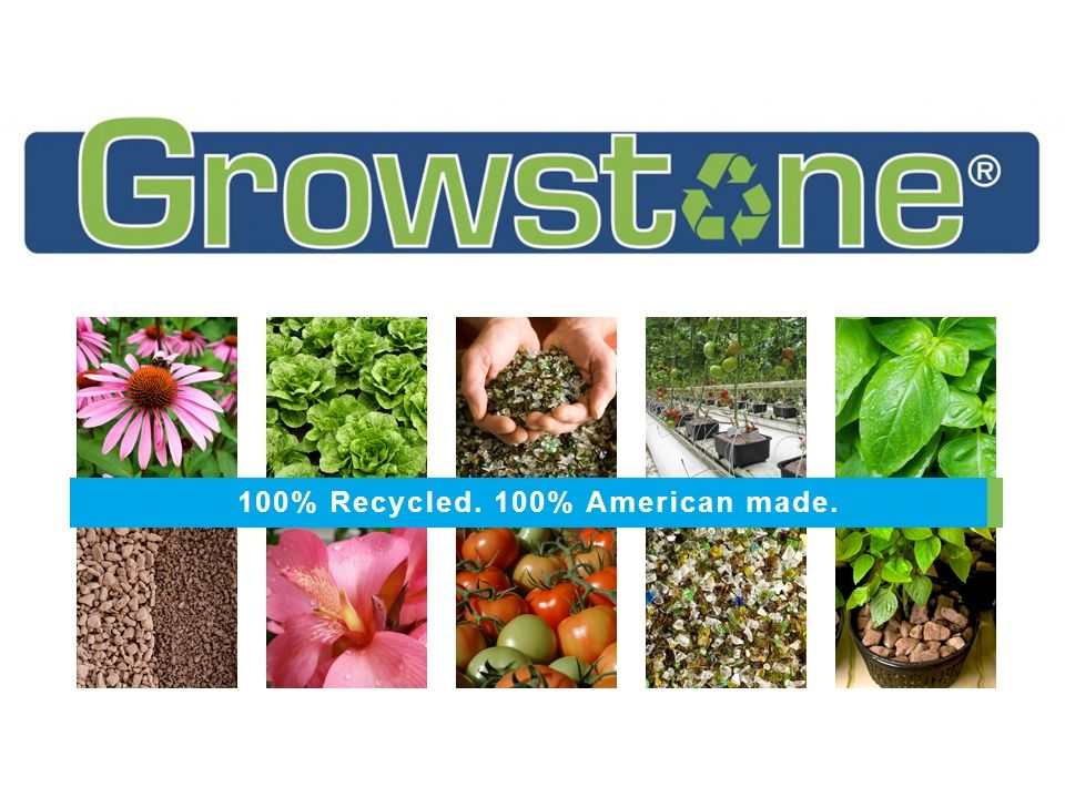 Growstone Porosity Comparison Growstones have 31% Water Holding Capacity (WHC) & 51% Air Filled Porosity (AFP)