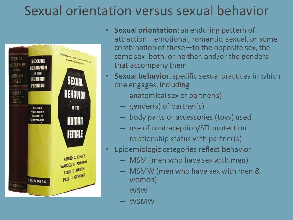 STIs – MSM are at higher risk of both HAV (oral-fecal) and HBV (sexual contact)Immunize.