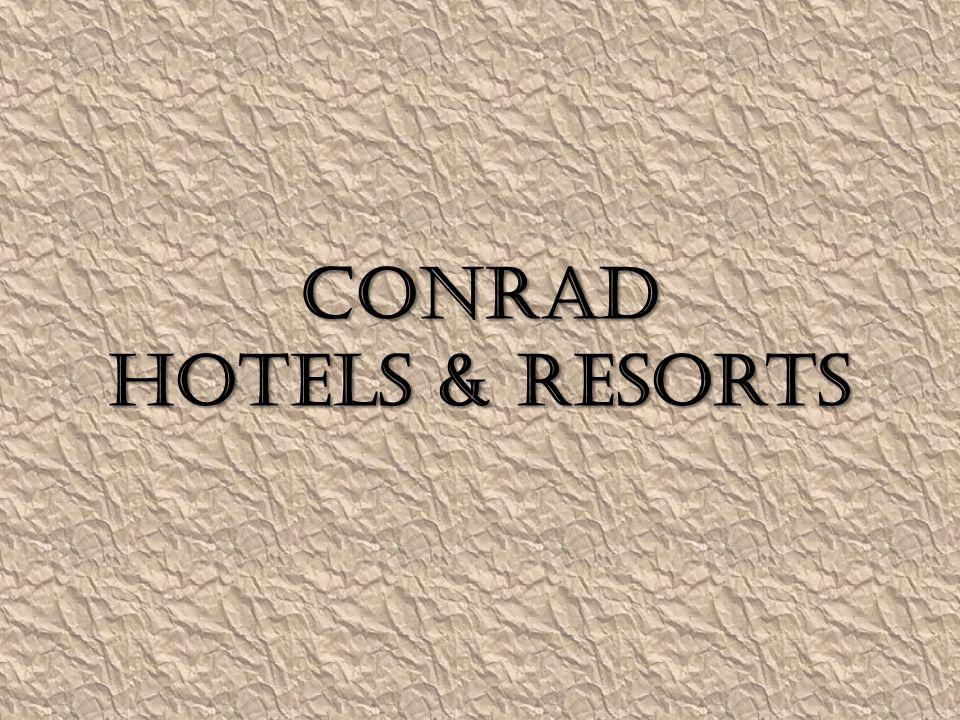 About Conrad 1.It won the World s Best Water Villa , World s Best Suites and Best Maldives Resort & Spa award recently.