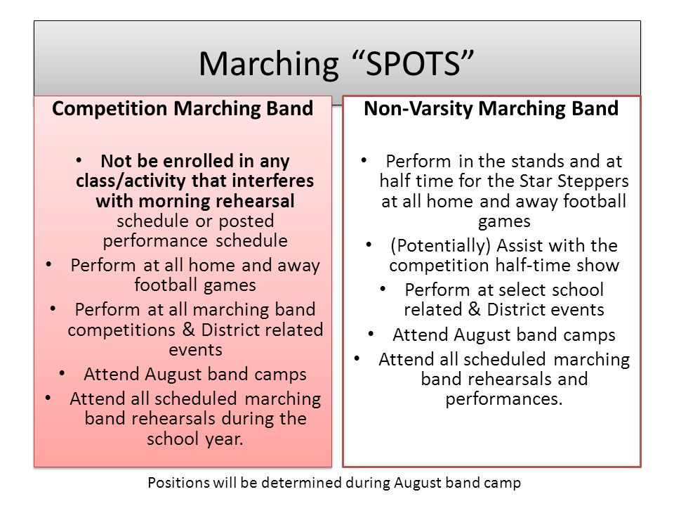 Marching SHOW 2014-2015 OutBreak
