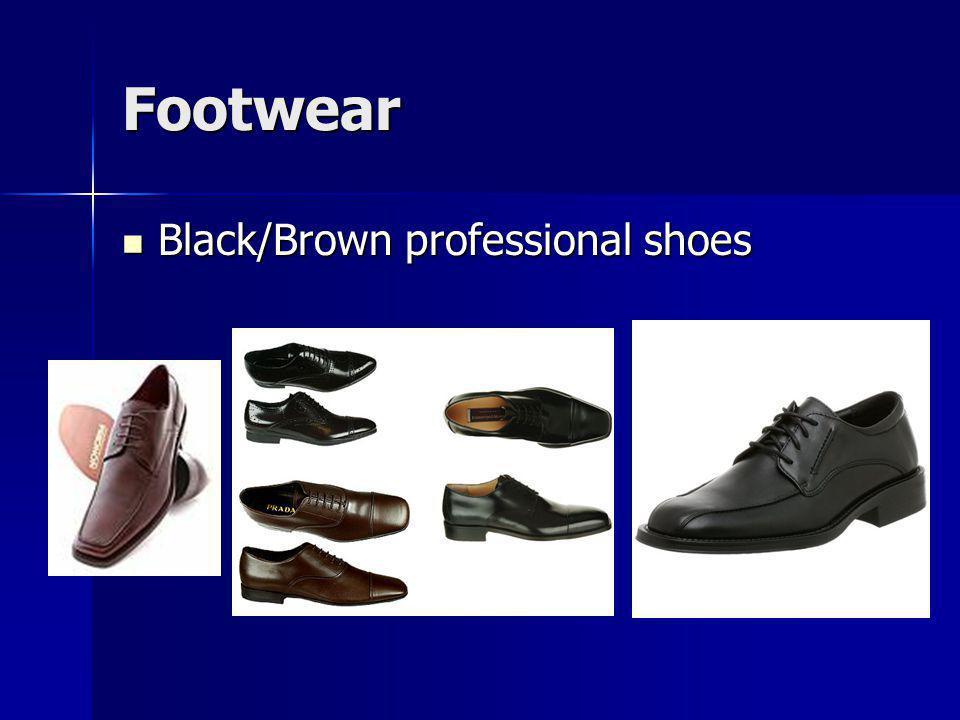 Footwear Black/Brown professional shoes Black/Brown professional shoes