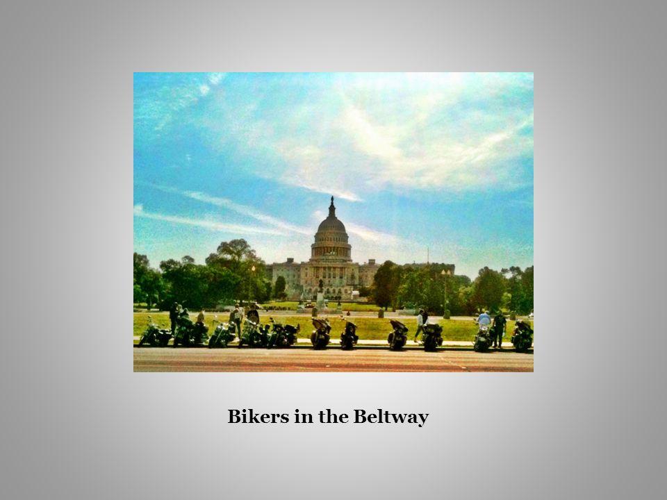 Bikers in the Beltway