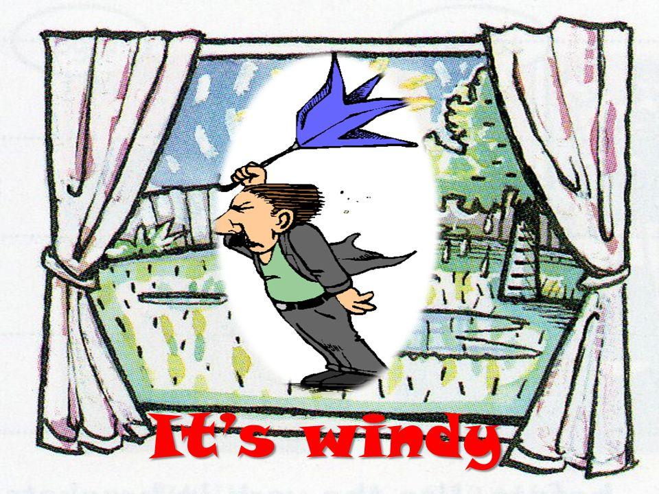 Its windy