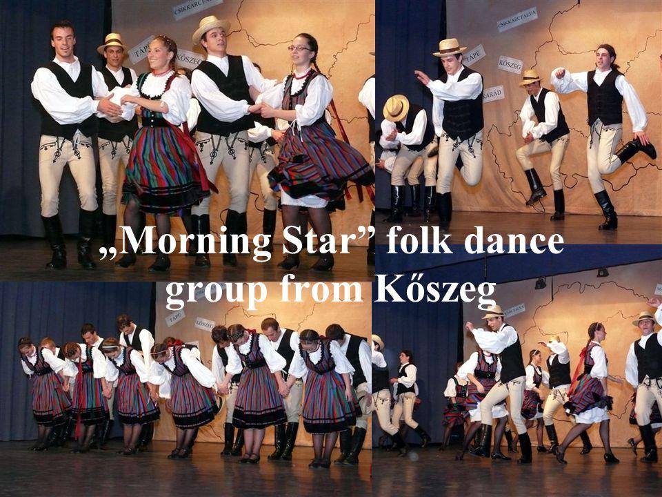 Morning Star folk dance group from Kőszeg