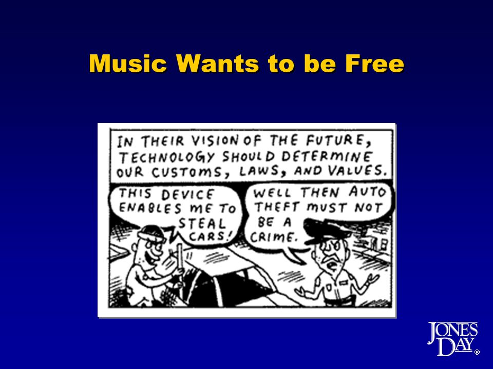 Music Wants to be Free