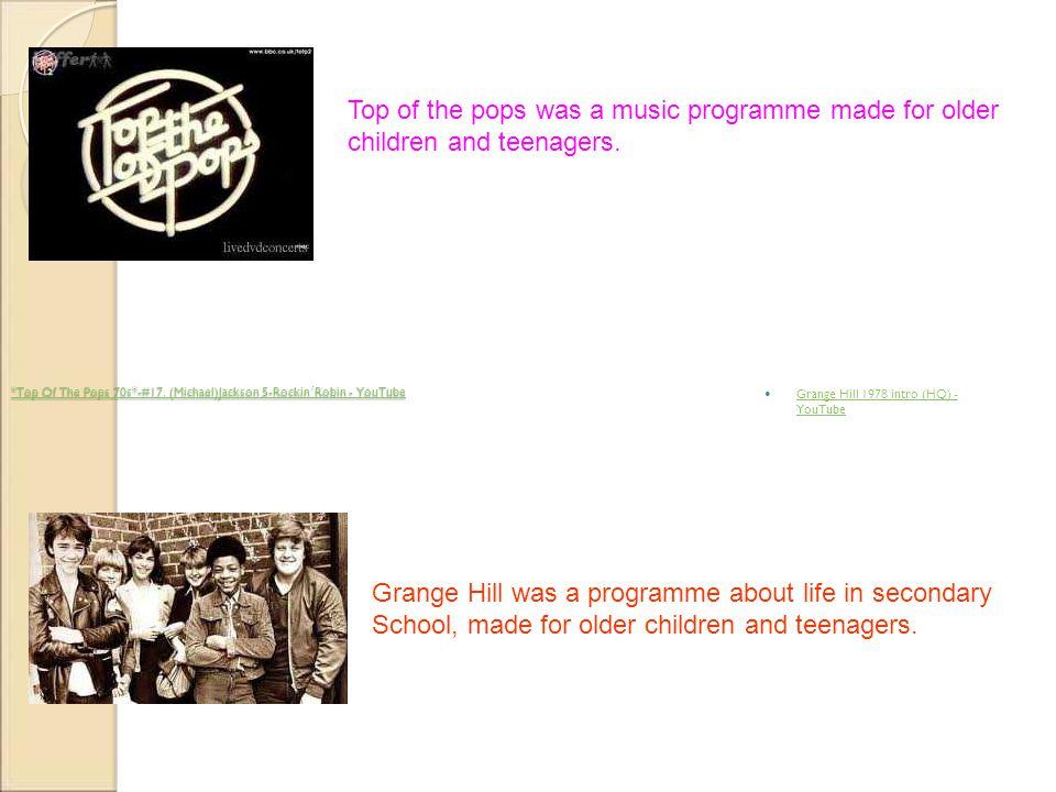 *Top Of The Pops 70s*-#17. (Michael)Jackson 5-Rockin´Robin - YouTube *Top Of The Pops 70s*-#17. (Michael)Jackson 5-Rockin´Robin - YouTube Grange Hill